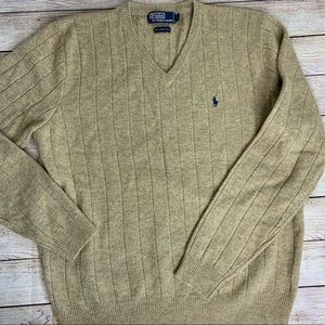 Polo Ralph Lauren Lambs Wool Sweater Large